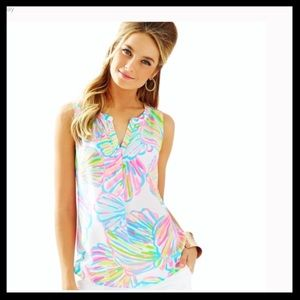 Lilly Pulitzer Stacey Shellabrate Top